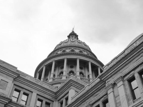 Walker's corner of Texas capitol Feb 2018
