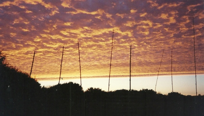 Sunrise on BAST Ranch 1997