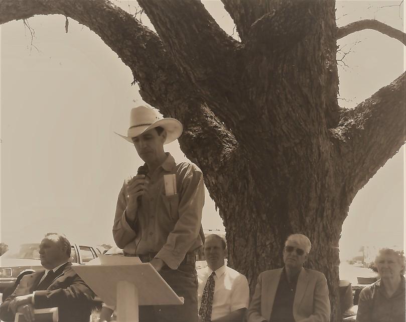 Joachim's welcome speech Jackson event 1998